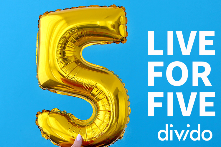 Divido turns five