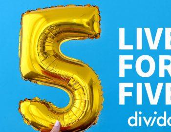 Divido turns five